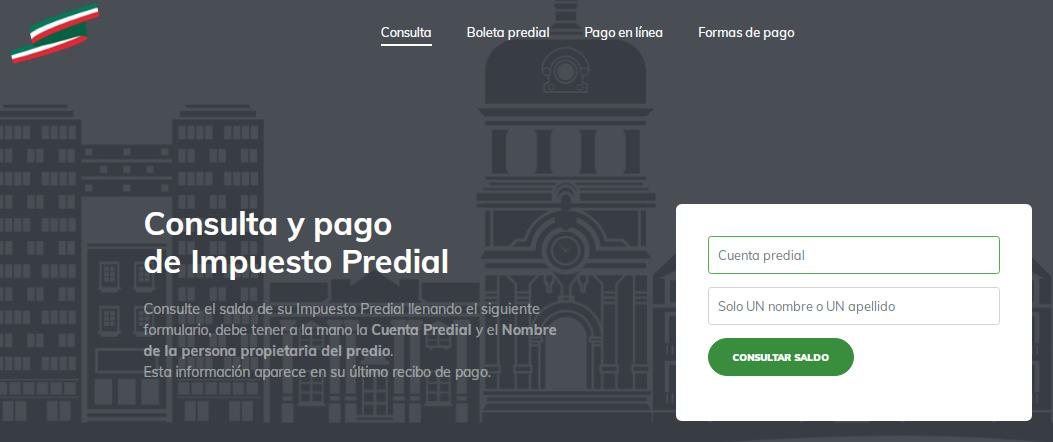 Pagar predial en Pachuca en linea