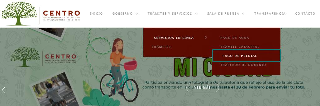 Consulta y paga el predial Villa Hermosa Tabasco en línea